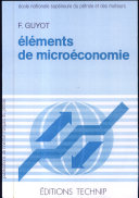 Eléments de microéconomie
