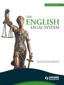 The English Legal System, 7th Edition eBook ePub