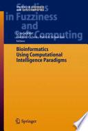 Bioinformatics Using Computational Intelligence Paradigms Book PDF