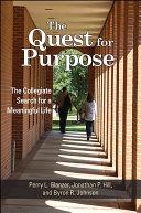 The Quest for Purpose Pdf/ePub eBook