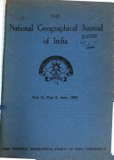 The National Geographical Journal of India