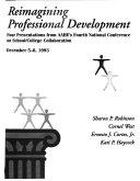 Reimagining Professional Development
