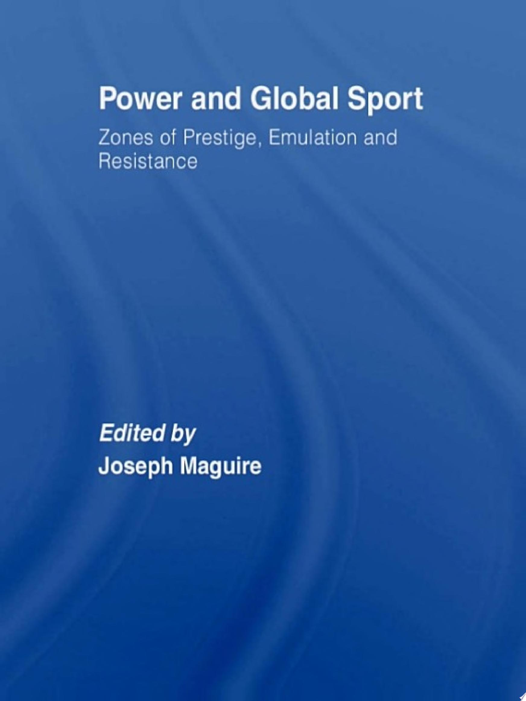 Power and Global Sport