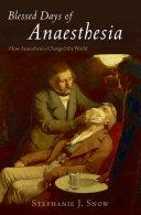 Blessed Days of Anaesthesia Pdf/ePub eBook