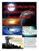 Seeking Truth, Seeking Jesus, Finding Allah