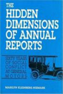 The Hidden Dimensions of Annual Reports