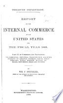 Report on the Internal Commerce of the United States Book