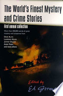 The World S Finest Mystery And Crime Stories 1 Book PDF