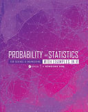 Probability and Statistics for Science and Engineering with Examples in R  First Edition  Book