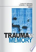 Trauma and Memory Book PDF