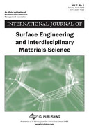 International Journal of Surface Engineering and Interdisciplinary Materials Science  Vol 1 Iss 1