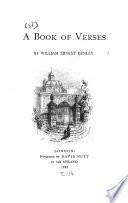 A Book of Verses Book