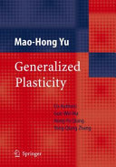 Generalized Plasticity