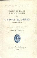 Cartas do Brasil e mais escritos (opera omnia)