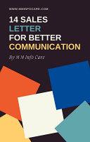 14 Sales Letter for Better Communication