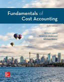 Loose Leaf for Fundamentals of Cost Accounting