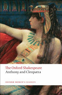 The Oxford Shakespeare  Anthony and Cleopatra