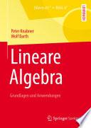Lineare Algebra  : Grundlagen und Anwendungen