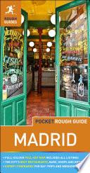 Pocket Rough Guide Madrid