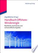 Handbuch Offshore-Windenergie