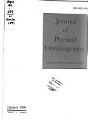 Journal of Physical Oceanography