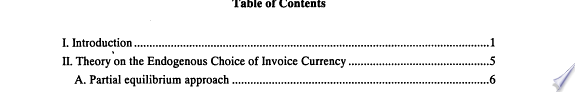 The Choice of Invoice Currency in International Trade