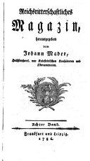 Reichsritterschaftliches Magazin
