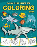 Ocean   Life Under Sea Coloring Book