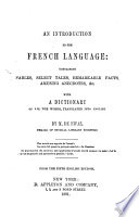 Introduction to the French language ... From 5th Eng. ed