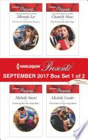 Harlequin Presents September 2017 Box Set 1 Of 2