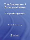 Pdf The Discourse of Broadcast News Telecharger