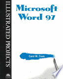 Microsoft Word 97 - Illustrated Projects
