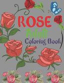 Rose Adult Coloring Book