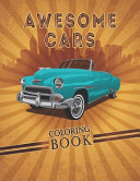 Awesome Cars Coloring Book