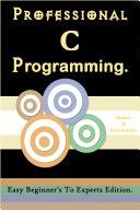 Pdf Professional C Programming : Telecharger