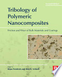 Tribology of Polymeric Nanocomposites Book