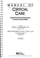 Manual of Critical Care Book