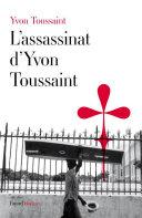 Pdf L'assassinat d'Yvon Toussaint Telecharger