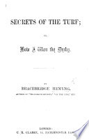 Secrets of the turf  or  How I won the Derby