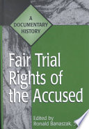 Read Online Fair Trial Rights of the Accused For Free