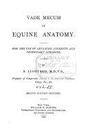 Vade Mecum of Equine Anatomy
