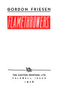 Flamethrowers ebook