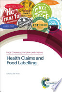 Health Claims and Food Labelling Book