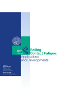 Atti del Workshop IGF   Rolling contact fatigue  applications and developments