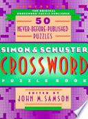 Simon and Schuster Crossword Puzzle Book Book PDF