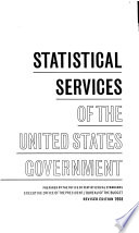 Statistical Services Of The United States Government