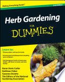 """Herb Gardening For Dummies"" by Karan Davis Cutler, Kathleen Fisher, Suzanne DeJohn, National Gardening Association"