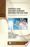 Statistics and Machine Learning Methods for EHR Data