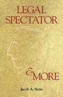 Legal Spectator & More Pdf/ePub eBook