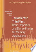 Ferroelectric Thin Films